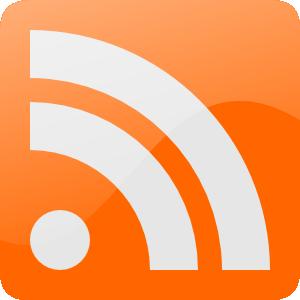 le logo des flux rss