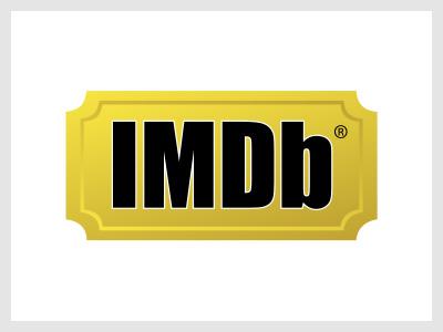 Le logo du site internet IMDB