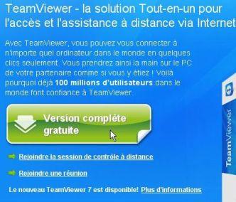 teamviewer - téléchargement