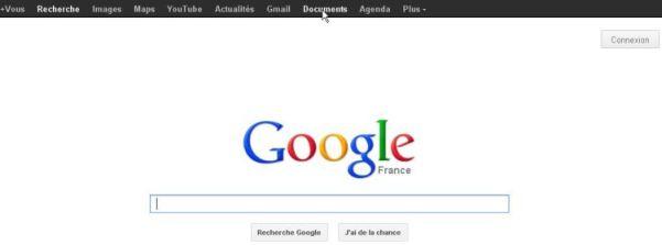 Accueil google docs