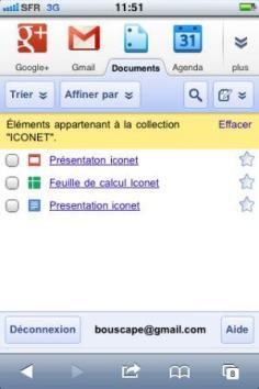 Modifier fichiers office sur Iphone