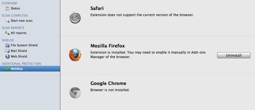 Webrep pour apple mac