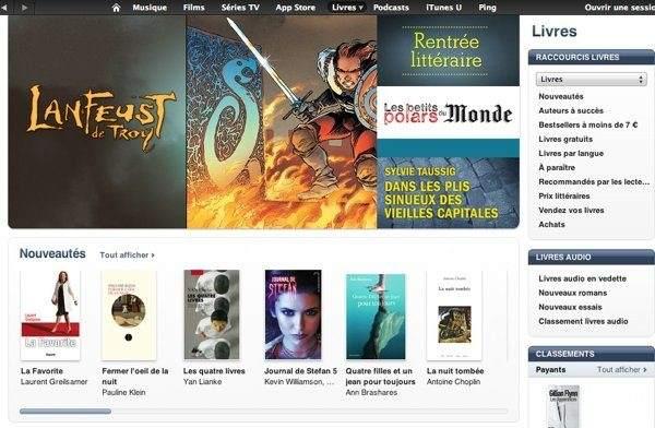 acheter livre ebook sur appstore